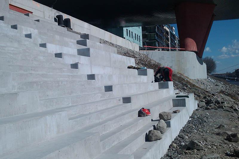 Riverpark schodisko