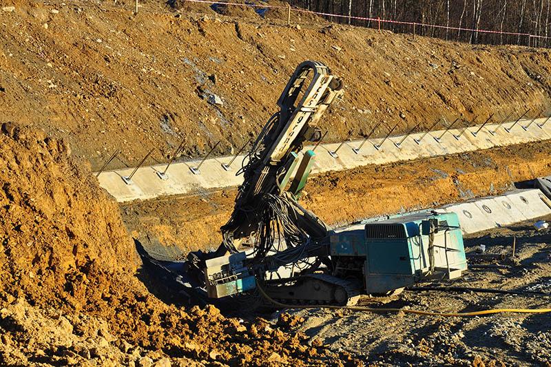 úpravňa trvalé horninové kotvy